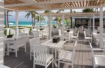 Beach Bar at Club Med Turkoise