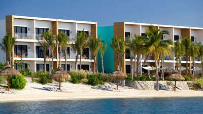Aguamarina Buildings Club Med Cancun Yucatan